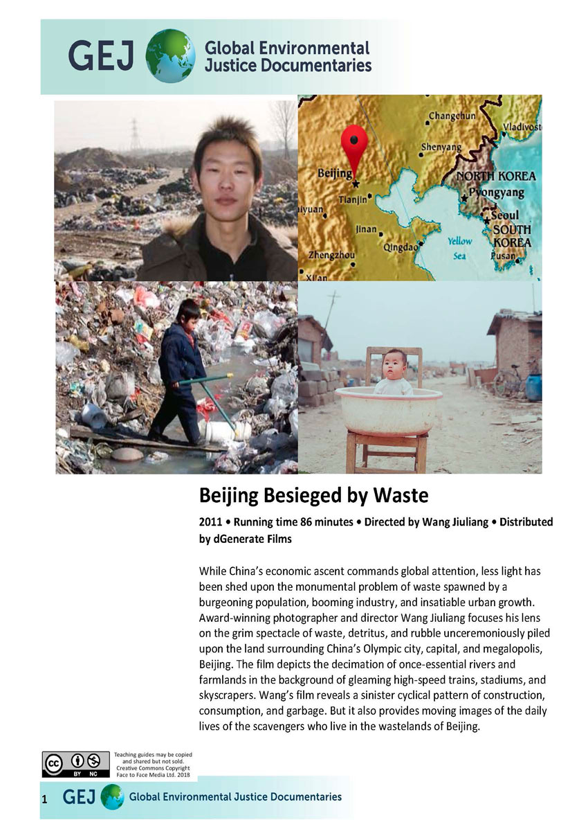 Beijing Besieged by Waste Teachers Guide